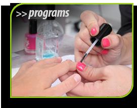 new nail program button