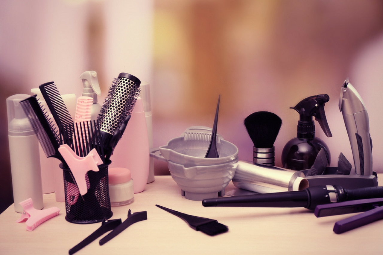 cosmetology tools and supplies